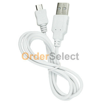 Micro USB Charger Cable Cord for Phone ZTE HTC LG Motorola Moto Samsung Phones