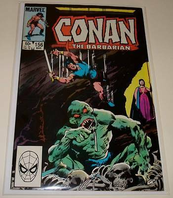 CONAN THE BARBARIAN # 156  Marvel Comic   March 1984    FN/VFN