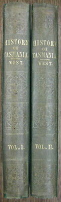 The History of Tasmania (1852). By John West. First edition