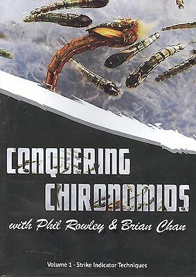 Conquering Chironomids Vol 1 with Brian Chan & Phil Rowley (fly fishing DVD)