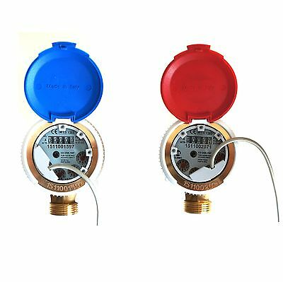 FERRO WATER METER WITHSMART  REED SWITCH PULSE EMITTER  4m3/h ANTIMAGNETIC