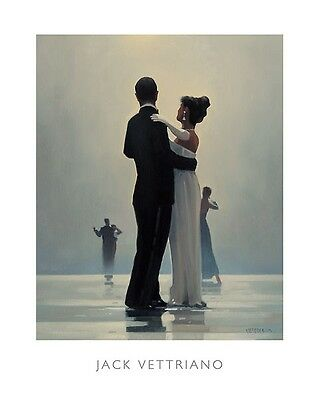 'Dance Me To The End Of Love' by Jack Vettriano - High Quality Print