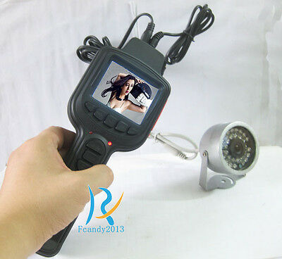 Video Security Tester CCTV Camera Test Monitor record+Power out+Built-in battery
