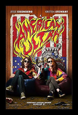 AMERICAN ULTRA  framed movie poster 11x17 Quality Wood Frame