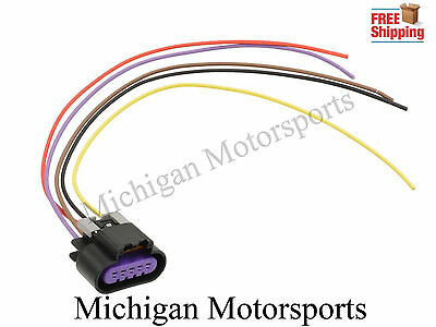 5 Wire MAF Sensor Wiring Connector LS3 LS7 Pigtail GM Mass Air Flow Harness