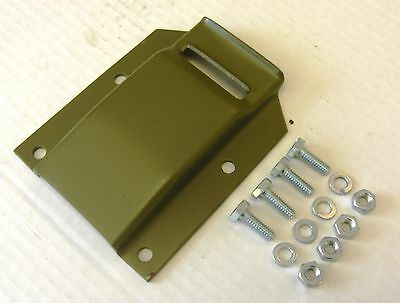 Jeep Willys GPW MB WWII Jerry or Gerry Can Upper Strap Bracket, A4130 G503