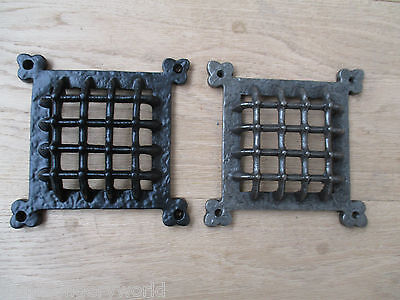 "6""  Vintage Medieval Gothic  Window Door Ventilation Grill Aperture Cover"