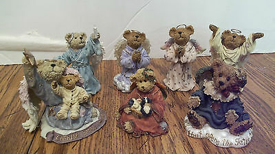 Lot of 7 Boyd Bear Figurines  The Bearstone Collection  RETIRED (Lot 1)