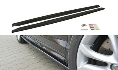 Side Skirts Add-On Diffusers Audi S3 8P Facelift (2009-2013)