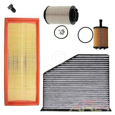 Filtro Aceite+Aire+Combustible+Habitaculo Vw Golf 5 V 1K 1.9 2.0 Tdi