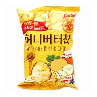 HAETAE Korean Honey Butter Chip 60g (3 pack) Korean Bagged Chip Potato Snack