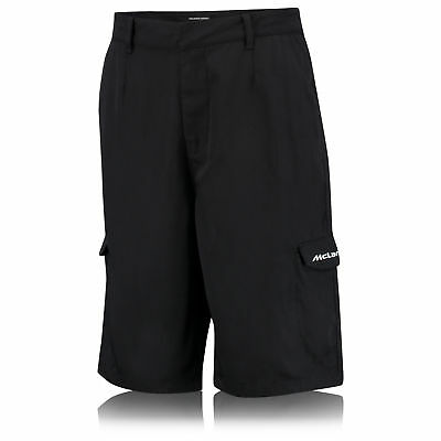 McLaren Honda Team Branded Shorts Pants With Embroidery Black Mens