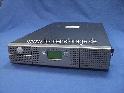 DELL PowerVault TL2000 LTO Tape Library Chassis 24 slots - Silber / Silver