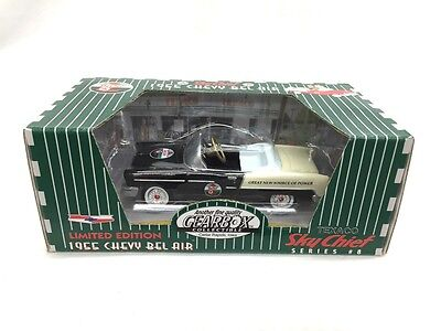 Gearbox Texaco Limited Edition 1955 Chevy Bel Air Sky Chief Black #8 New