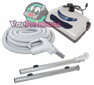 30' or 35' Central Vacuum Kit w/Hose, Power Head & Wands Beam Nutone Electrolux