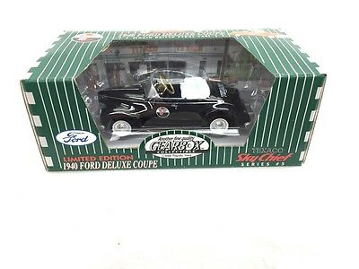 Gearbox Texaco Limited Edition 1940 Ford Deluxe Coupe Sky Chief Black #5 New