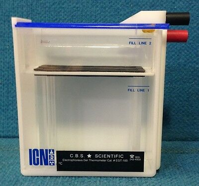 C.B.S Scientific Electrophoresis Gel Thermometer EGT-100 ICN