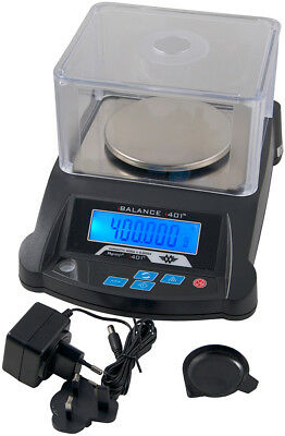MyWeigh ibalance 401 400g / 0,005g Präzisionswaage mit dualem Display Laborwaage