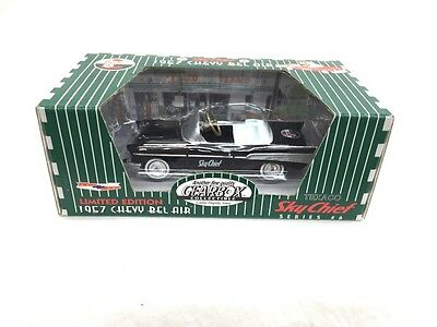 Gearbox Texaco Limited Edition 1957 Chevy Bel Air Sky Chief Black #6 New