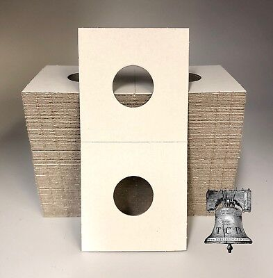 100 2x2 INDIAN HEAD Penny Mylar Cardboard Coin Holder Flip BCW Storage Case