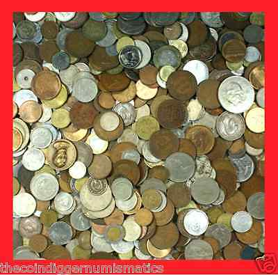 World Foreign Coin Lots 10 Mixed Premier Grab Bag + Free Banknote