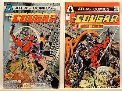 The Cougar #1, #2 - Vampires and Werewolves - Atlas / Seaboard