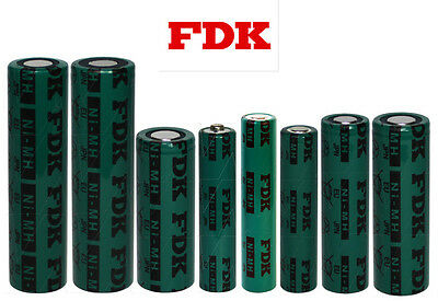 FDK 1.2V NiMH AAA 5/4AAA AA A 4/3A 4/5A D size Rechargeable Batteries