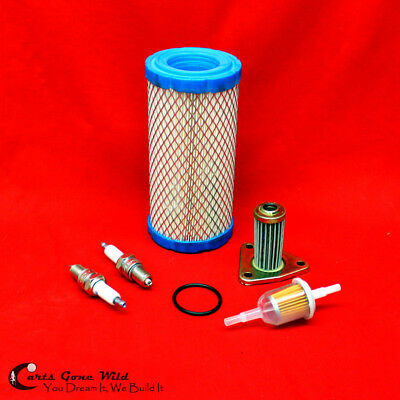 EZGO Golf Cart Maintenance Tune Up Kit w/ Oil Filter, 05+ TXT & ST 350 Workhorse
