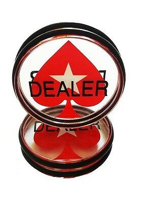 Poker Dealer Button Pokerstars Bigger Dealerbutton accessories XXL Acrylic