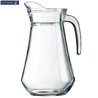 Luminarc Classique Clear Glass Jug 1.6L Serveware Kitchen New