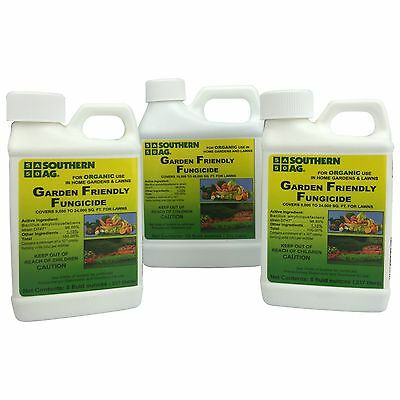 Garden Friendly Fungicide OMRI Certified Organic 8 oz or 16 oz bottle
