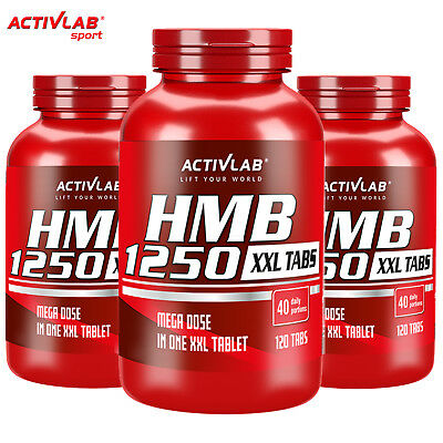 Hmb 1250 120 Tablets Anti Catabolic Anabolic Ripped Muscle Mass