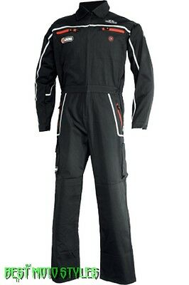 IXS NEVADA Overall black Work Wear Workshop mechanics clothing