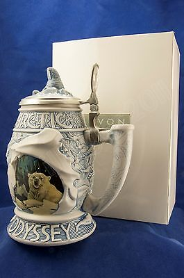 Arctic Odyssey Stein  Mint Numbered for Collectors New Old Stock in Original Box
