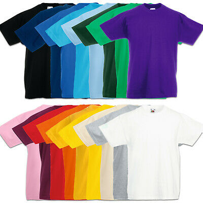 Fruit of the Loom T-Shirt Kinder Valueweight shirts Kids 104 116 128 140 152 164