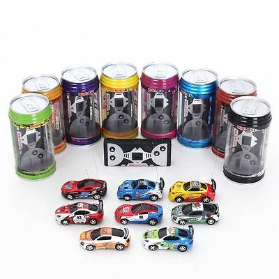 Coche mini RC radio control lata mini racing regalo niños