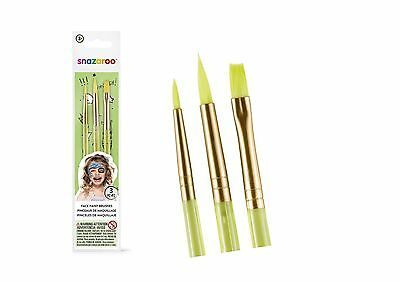 Professional Snazaroo Pack of Three Face Painting Brushes