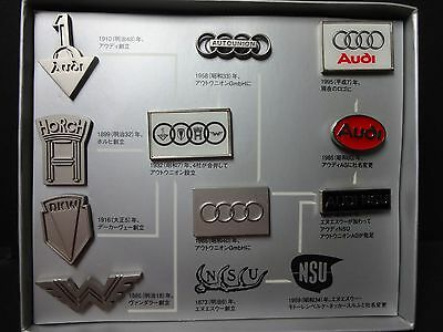 Audi pin batch 100 Anniversary Not sold in stores FREE SHIPPING JAPAN