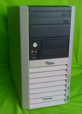 24 x Esprimo P5615 AMD Athlon 2,21GHz- 1024MB RAM - 40 GB HDD - DVD - VISTA COA