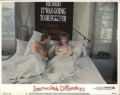 Irreconcilable Differences 1984 Original Movie Poster Comedy Drama Romance