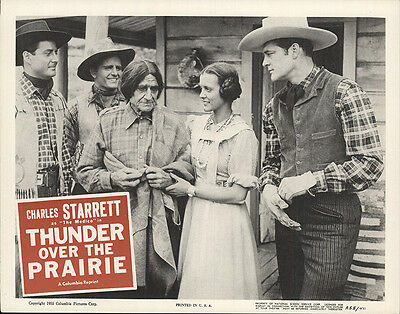 Thunder over the Prairie 1955 Original Movie Poster Action Music Western
