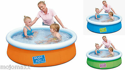 BESTWAY 5ft FAST FAMILY CHILDREN KIDS GARDEN PADDLING INFLATABLE POOL BW57241