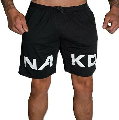Nakd Gangsta Long Shorts, Bodybuilding Gym Training Mens Short Workout
