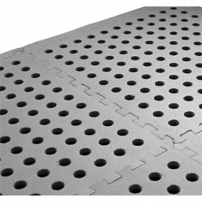 Multi Purpose Rubber Floor Mat Tiles - For Garages, Tents or Caravan Awnings