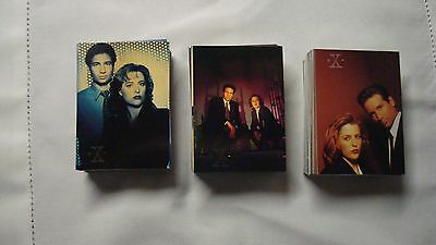 X-FILES complete base sets of season 1,2 and 3