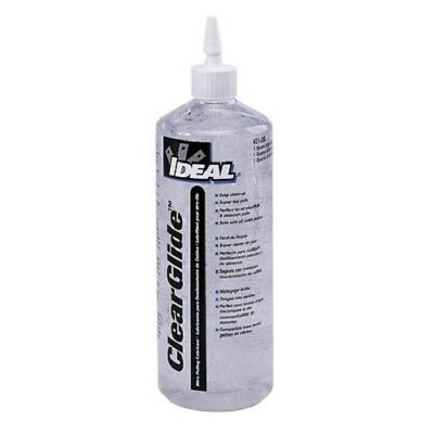 IDEAL 31-388 Wire Pulling Lubricant, Clear, 1-Qt Squeeze Bottle