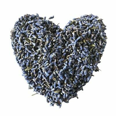 Cert. ORGANIC Dried Lavender Flowers 50gr - BRIGHT BLUE  - ORGANIC - Free Post