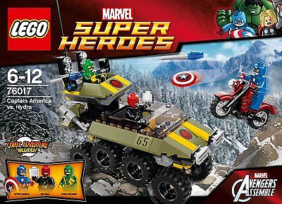LEGO Super Heroes 76017 - Captain America vs. Hydra ** PURCHASE TODAY **
