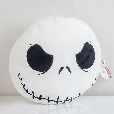 The Nightmare Before Christmas Jack Skellington Pillow Cushion Plush Xmas Gift