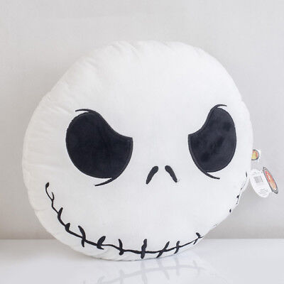 The Nightmare Before Christmas Jack Skellington Plush Pillow Cushion Xmas Gift